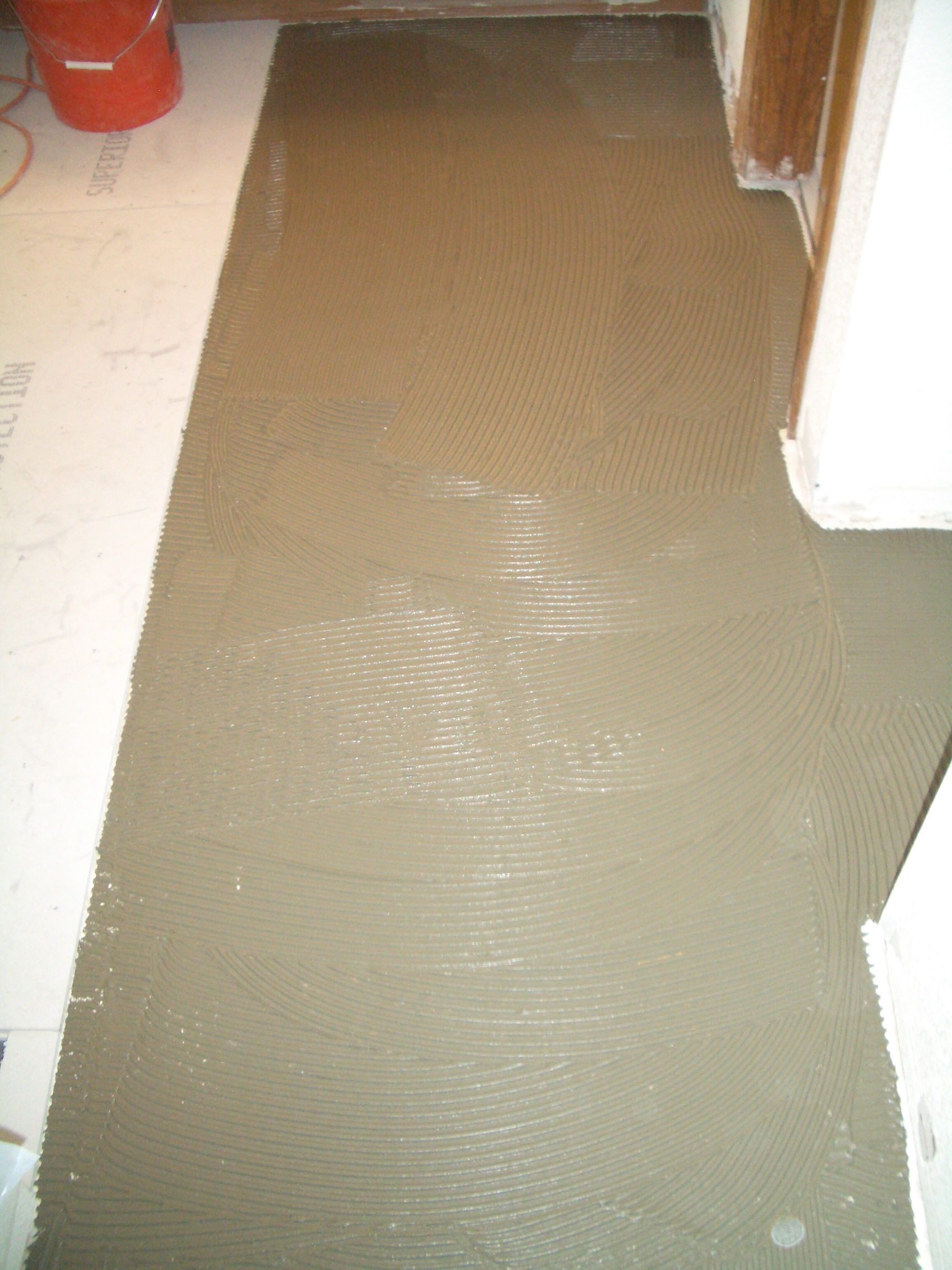 How To Install Cement Backerboard For Floor Tile The Floor Elf