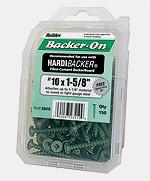 Backerboard screw pack