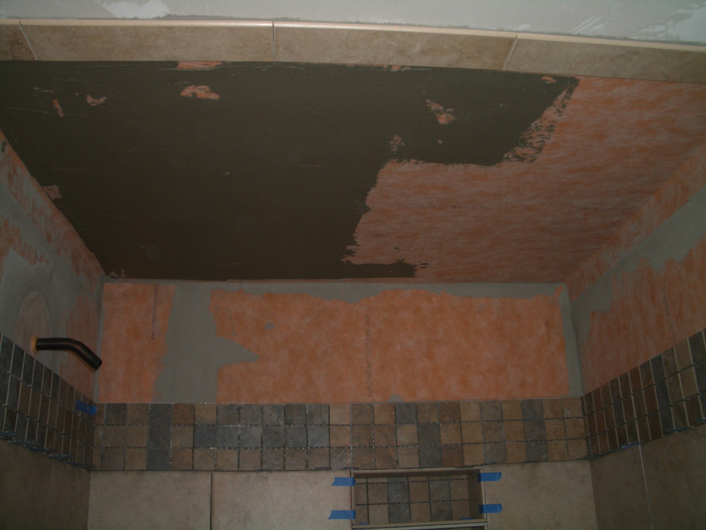 bathroom floor tile installation how to install tile on a shower ceiling 15910 | CIMG3736