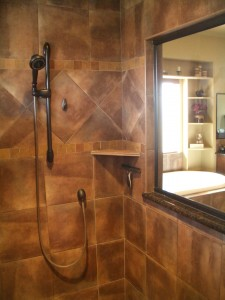 How to build a shower shelf