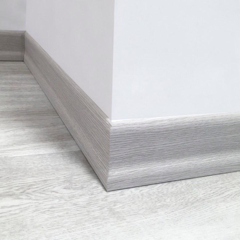 Light Gray 8cm Skirting
