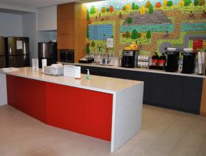 FSI Flooring and Countertop Break Room