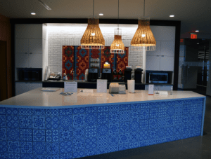 FSI Commercial Flooring for Break Room