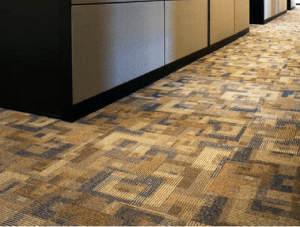 FSI Commercial Flooring for Corporate office cubicles & hallways - Airborne Project