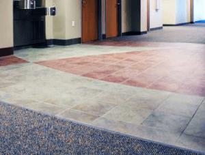 FSI commercial flooring for Hallway-Hillcrest Baptist Medical Center BSW Healthcare