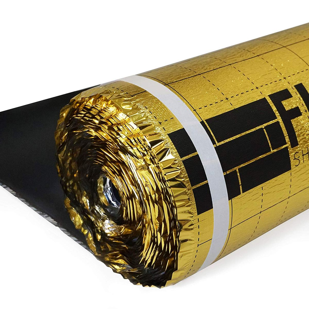 Floorlot Gold Premium Laminate Flooring Underlayment Vapor Barrier Thick Sqft