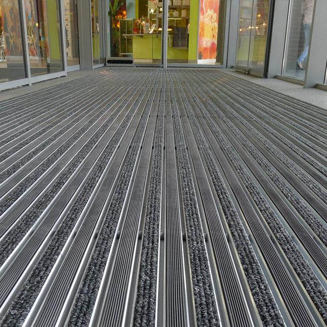 Zerbini in alluminio