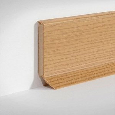 s60-d132 Doellken Skirting S 60 LT Natural Oak Core Skirting S 60 flex life Top