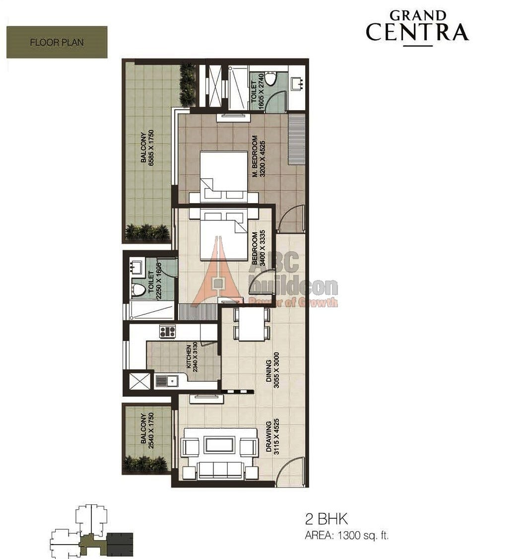 Ild Grand Centra Floor Plan