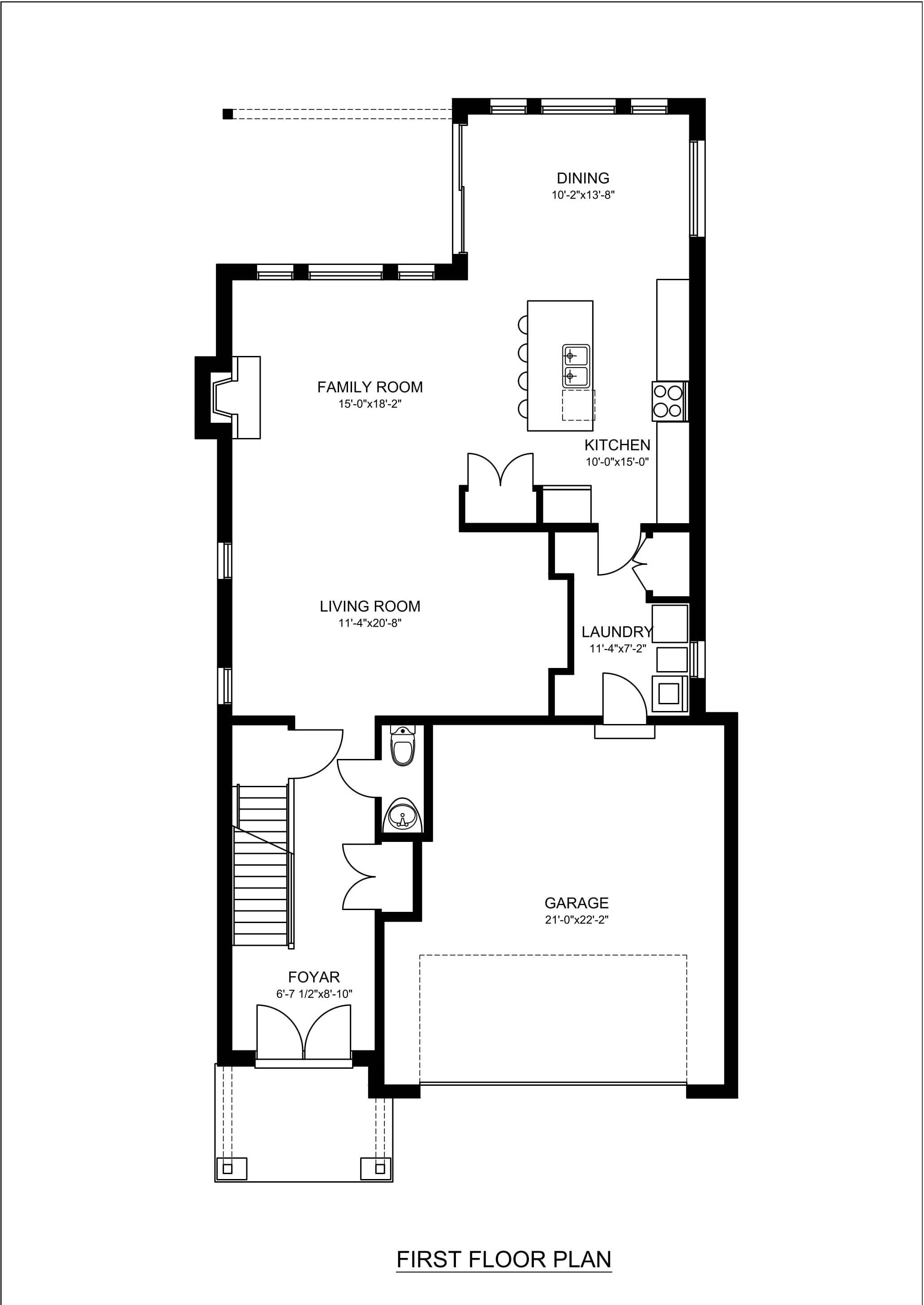 Real Estate 2d Floor Plans Design Rendering Samples
