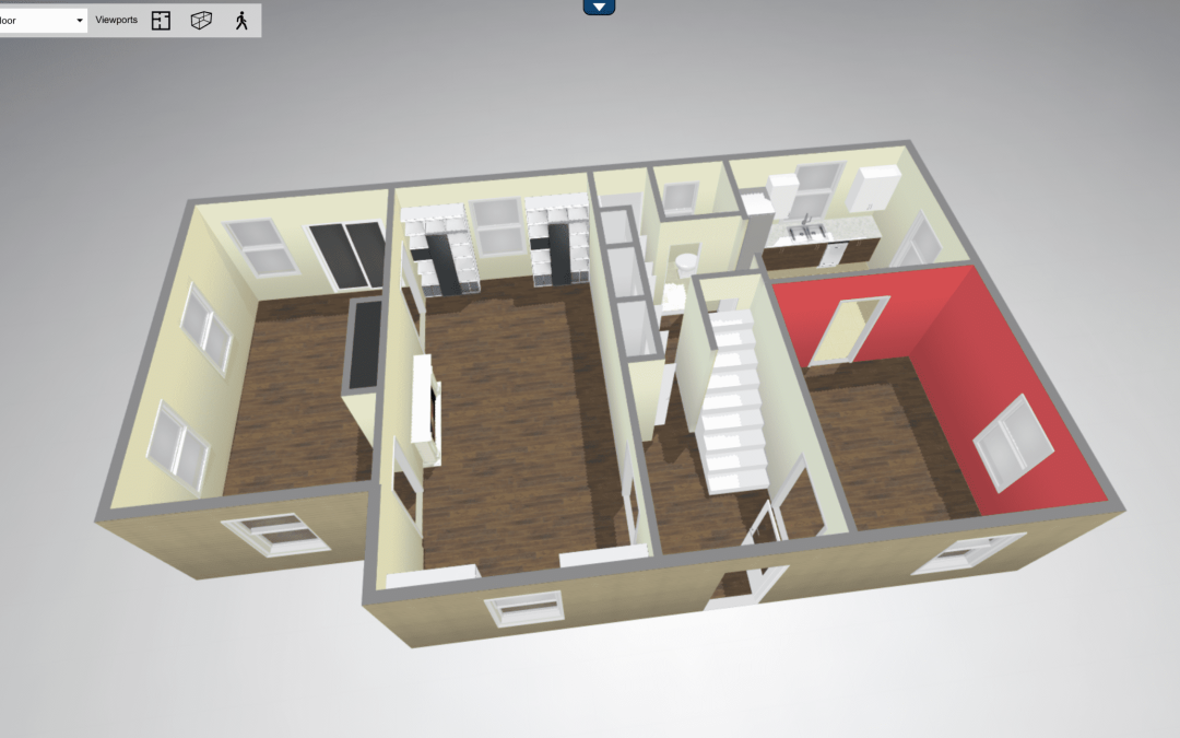New! 3D FloorPlans!