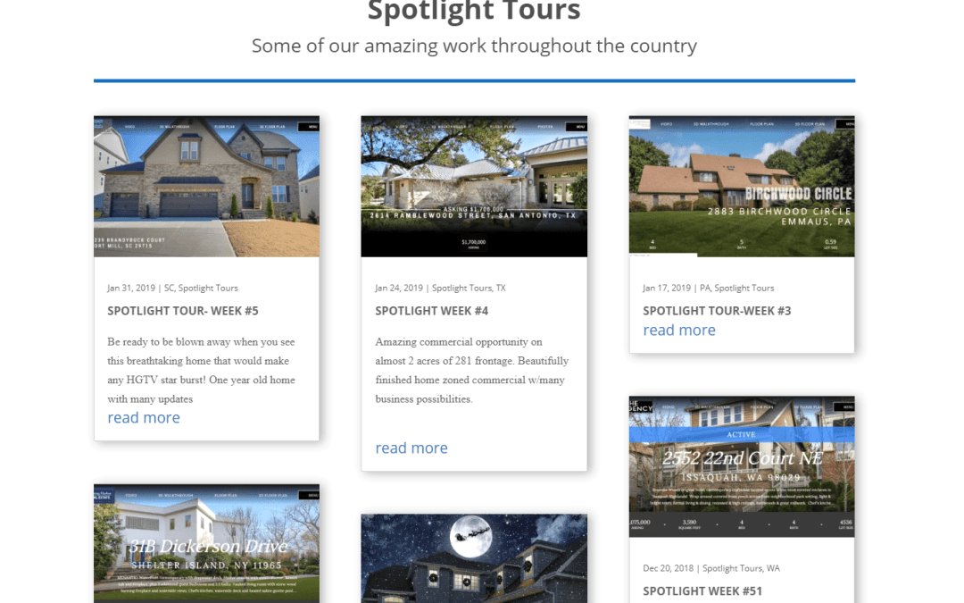 Introducing our Spotlight Tour Gallery
