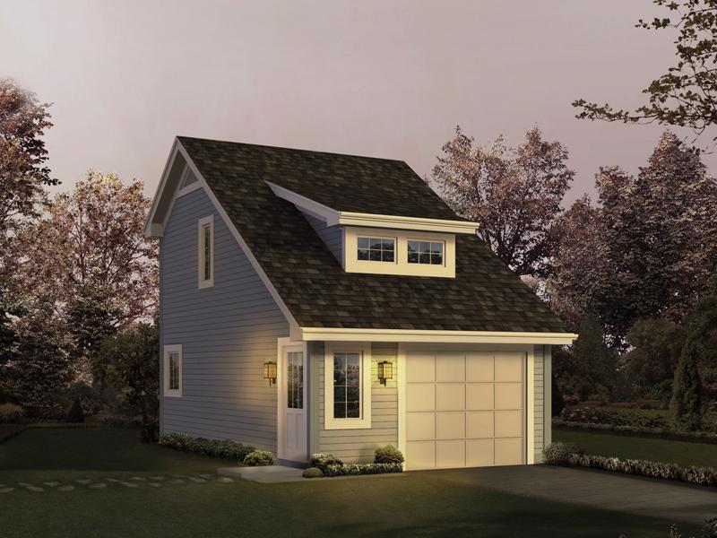 Pinegrove Apartment Garage Plan 007D-0195