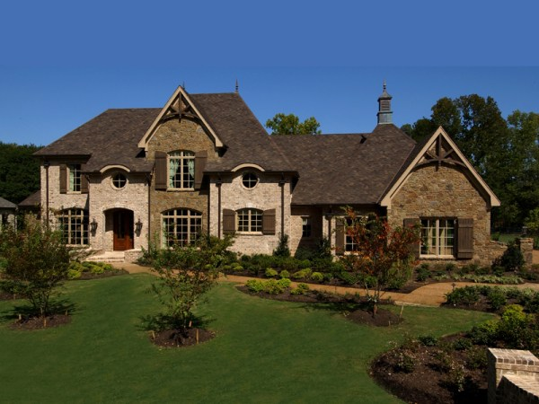 Darby Hill European Style Home Plan 019S0003 House