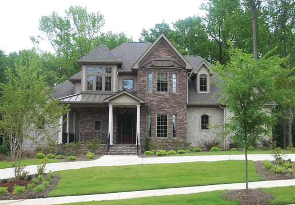 Naperville European Style Home Plan 026D1324 House