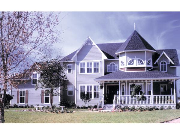 Two Story Farmhouse Plans Wrap Around Porch
