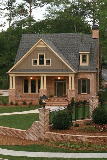 Green Trace Craftsman Home Plan 052D 0121   House Plans and More Arts   Crafts Style Home With Inviting Covered Front Porch