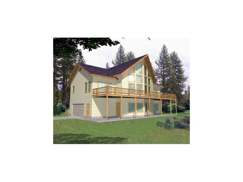 Nolensville Lake Home Plan 088D-0137