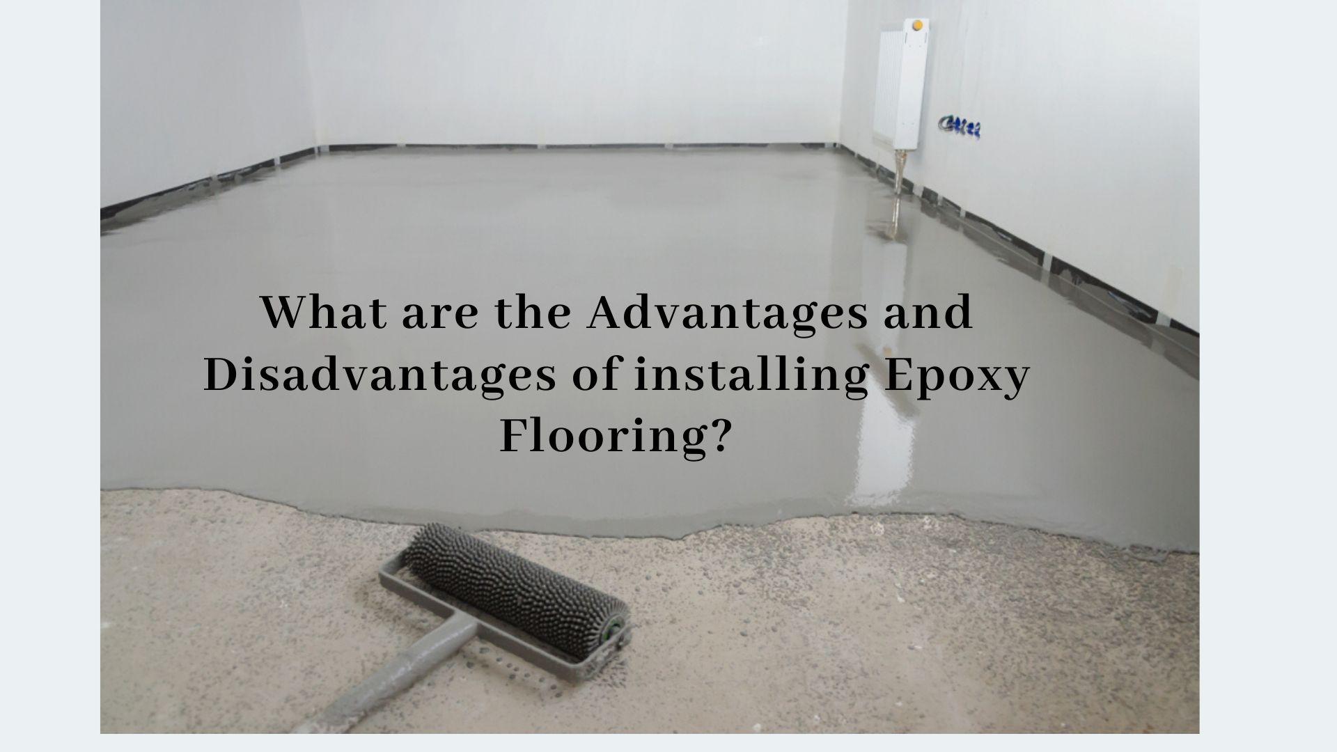 disadvantages of epoxy flooring floor