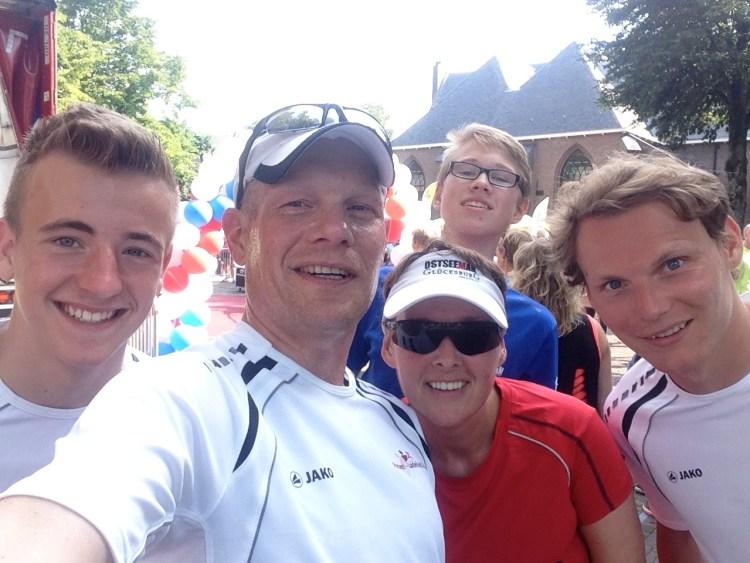 Aron, Frank, Ellen, Hendrik und Thorsten