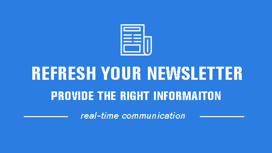 refresh your newsletter