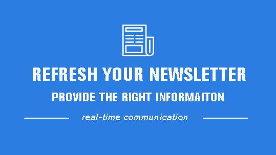 refresh your newsletter