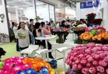 Mercado de flores ecuatorianas en China
