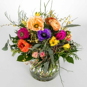 Kunderbunter Blumenstrauss von Flora Tina