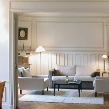 A completely comfortable pied-à-terre