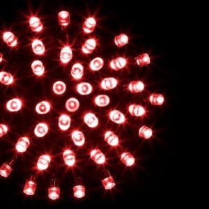 Guirlande électrique rouge 10 m Beverly