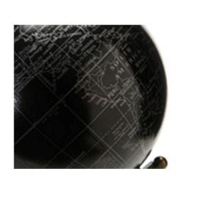 Globe Noir sur Pied Ageda