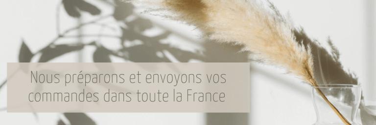 livraison en france - flora Déco - expedition sous 24h-48h