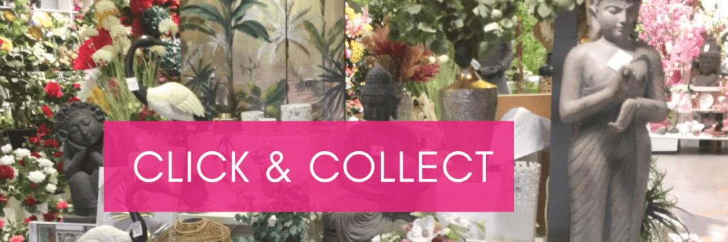 optez pour le click & collect pour retirer vos commandes flora déco