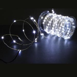 Guirlande Solaire nano LED Alama – Blanc