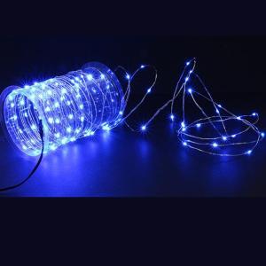 Guirlande nano LED Natalia – Bleu