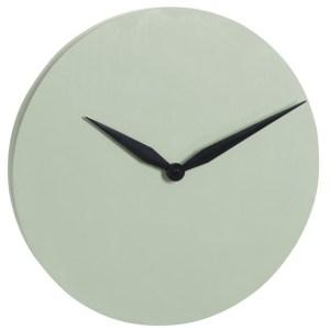 Horloge Ciment Vert Diam 40