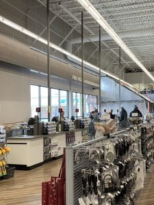 Single File Checklanes Bed Bath & Beyond