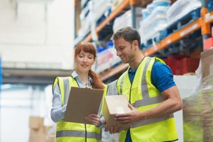 Retail Manager Delegates a Task