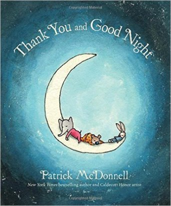 I love this lighthearted book, and that the cover has an Elephant on the moon!