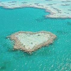 Heart shaped reef apart of the GBR