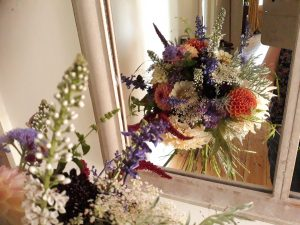 Bouquet delivery Shepton Mallet by Floral Acre natural British Flowers