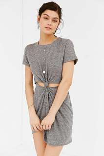 Honey Punch Knot-Front T-Shirt Dress - Urban Outfitters $49