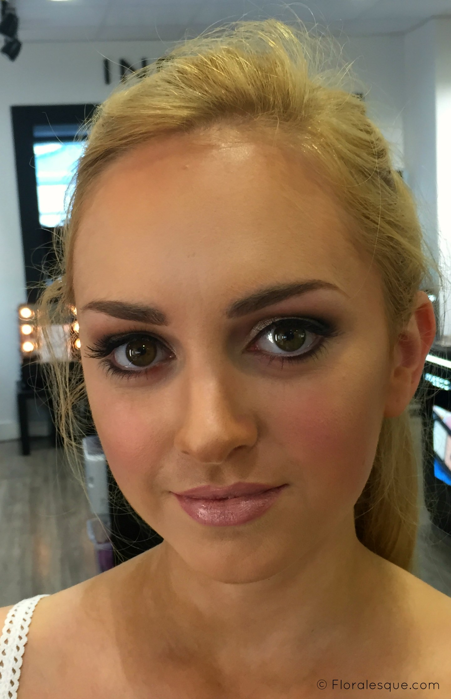 Inglot Bridal Make up class with Make up Artist MUA Amy Fadden