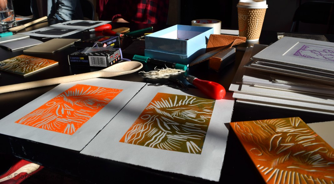 Lino Printing Workshop with Ian Jermyn