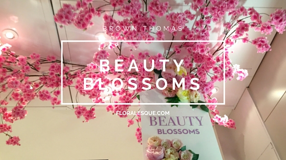 Brown Thomas Beauty Blossoms Garden Pop Up Floralesque feature