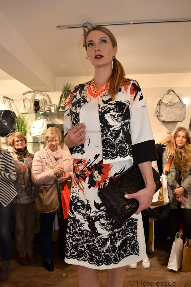 Galway Fashion Trail Floralesque Choice Runway