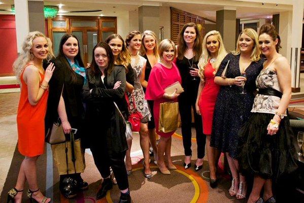 Irish Fashion Innovation Awards Floralesque ITWBN Bloggers