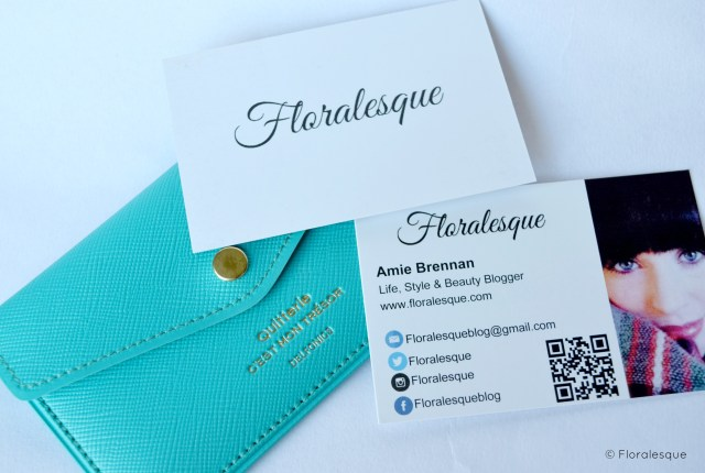 Do you really need Blogger Business Cards? Floralesque