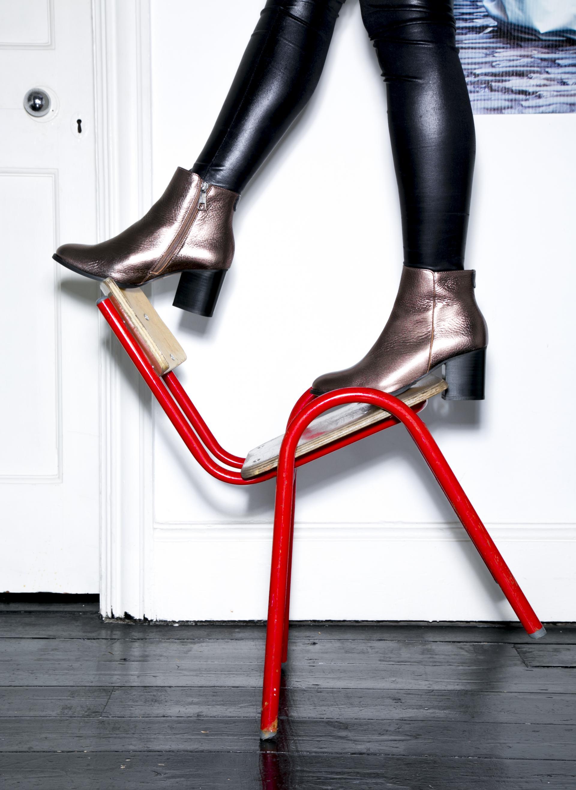 Courtney Smith x Buffalo Shoe Lab Collaboration Floralesque