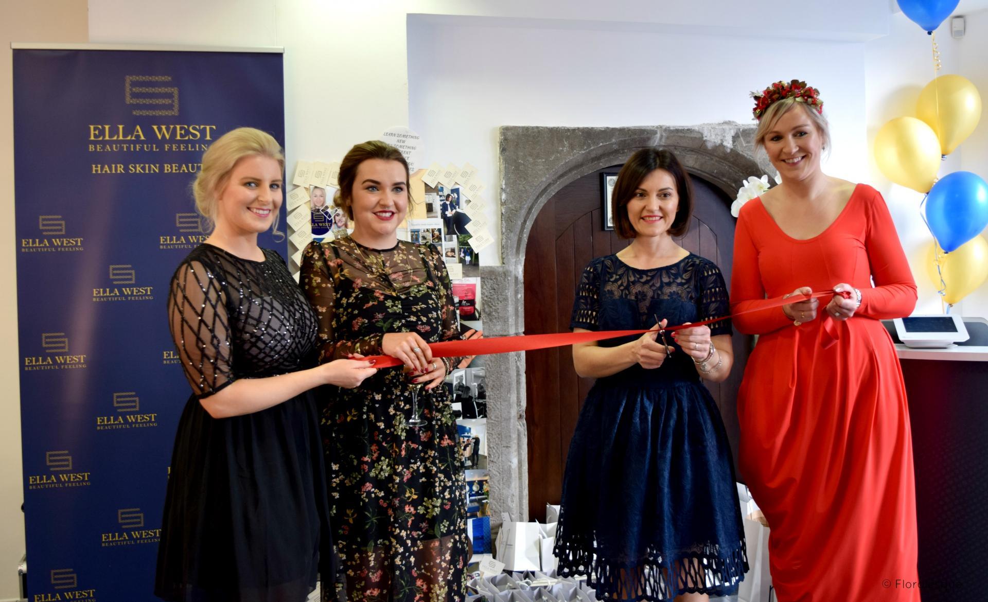 Launch of Ella West Salon Galway